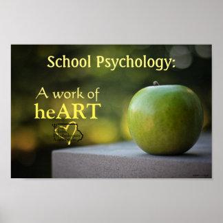 Affiche définie par psychologie d'école de l'Iowa Poster