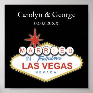 affiche d'enseigne de Las Vegas Posters