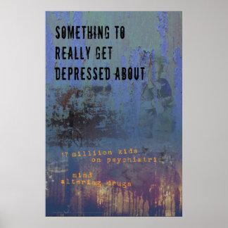 Affiche déprimée