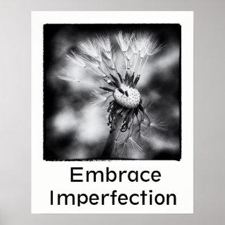 Affiche d'imperfection d'étreinte posters