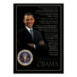 Affiche d'Obama
