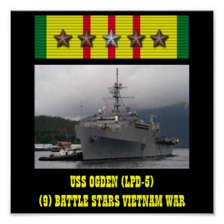 AFFICHE D'OGDEN D'USS (LPD-5)