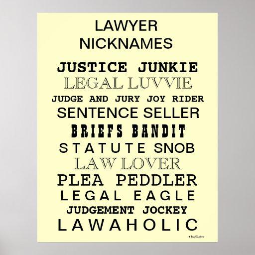 Affiche dr le de bureau de surnoms et de synonymes zazzle for Bureau synonym