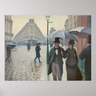 Affiche du 19ème siècle de Paris CC0120