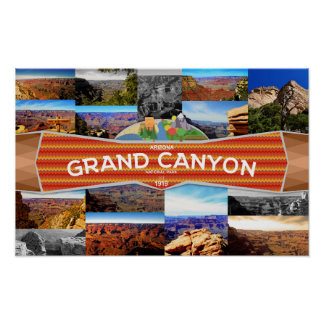 Affiche du canyon grand poster