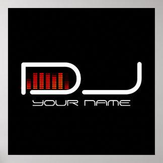 AFFICHE DU DJ
