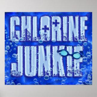 Affiche du drogué 1 de chlore