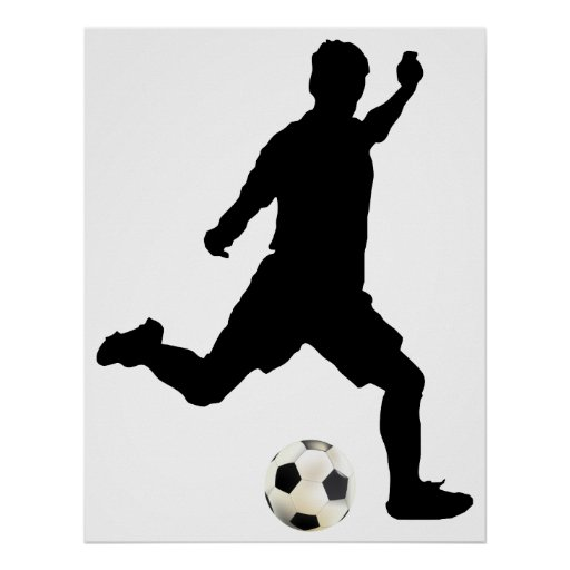 Affiche du football