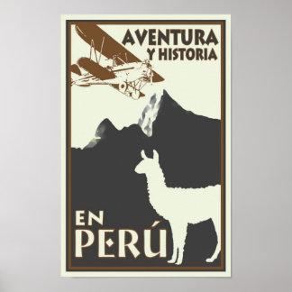 Affiche du Pérou