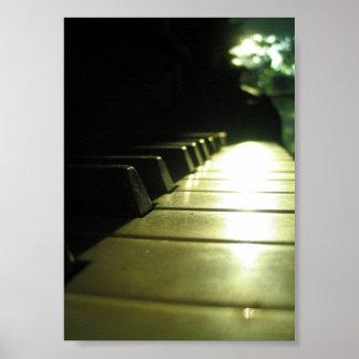 affiche du piano 5x7 au soleil