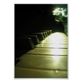 affiche du piano 5x7 au soleil posters