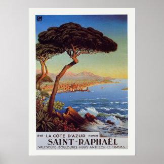 Affiche du voyage Saint-Raphael Posters