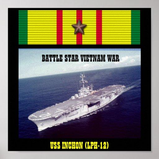 AFFICHE D'USS INCHON (LPH-12)