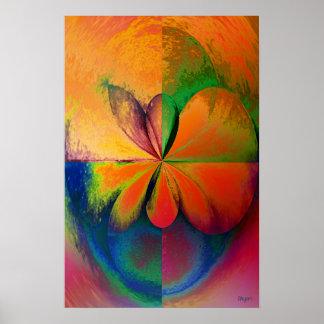 Affiche en bois d'art de quart de cercle d'étude