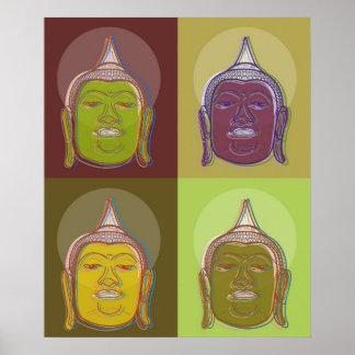 Affiche faite sur commande moderne de zen d'art de