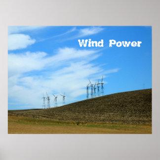 Affiche - ferme de vent