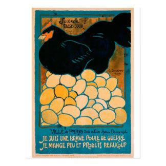 Affiche française de propagande de guerre - bonne cartes postales