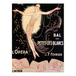 Affiche française d'opéra cartes postales