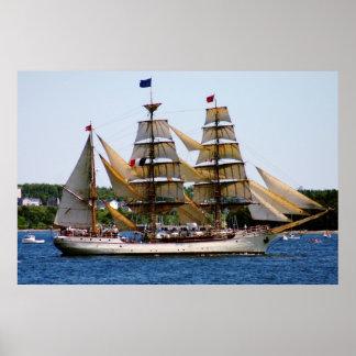 Affiche grande de bateau d Europa