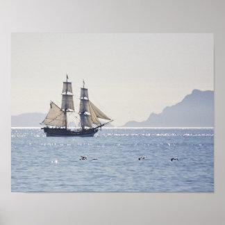 Affiche grande de Madame Washington de bateau