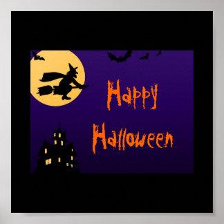 Affiche heureuse de Halloween