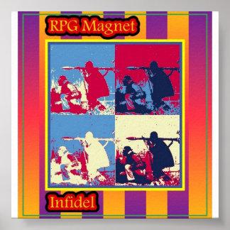 Affiche infidèle de couverture d'album