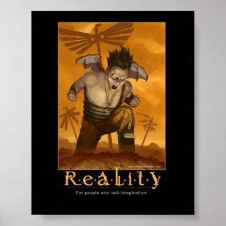 Affiche inspirée de réalité