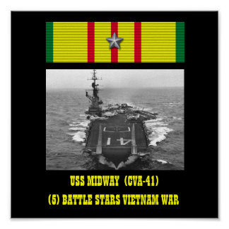 AFFICHE INTERMÉDIAIRE D'USS (CVA-41)