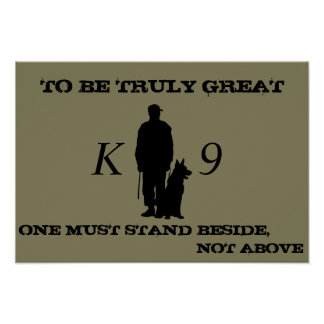 Affiche K9 Poster