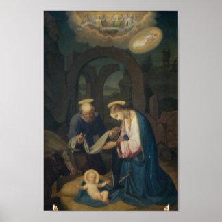Affiche : Naissance du Christ