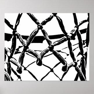 Affiche nette de basket-ball