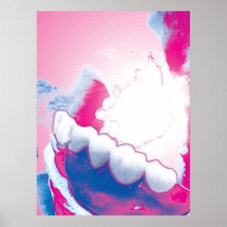 Affiche originale de dentiste de conception de