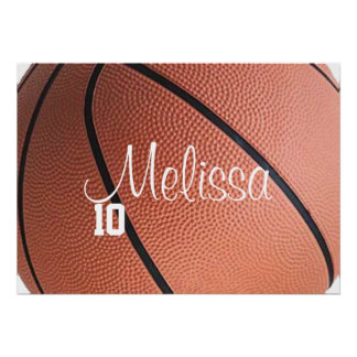 Affiche personnalisée de basket-ball