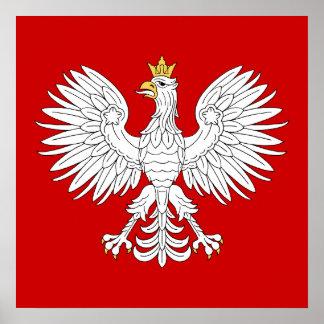 Affiche polonaise d'Eagle