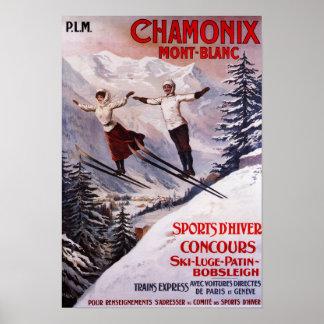 Affiche promotionnelle de ski posters