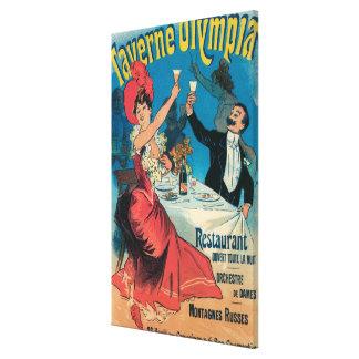 Affiche promotionnelle d'Olympia de Taverne Toiles