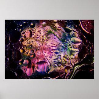 Affiche psychédélique abstraite 1