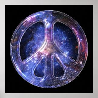 Affiche universelle de paix posters