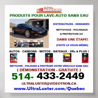 Affiche versent Produits UltraLuster versent l aut
