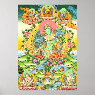 Affiche verte Tara