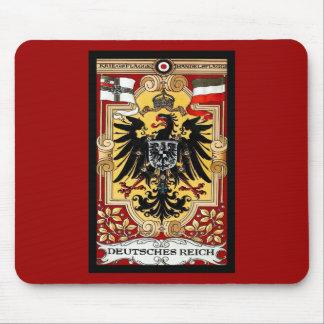Affiche vintage de l'Allemand WW1 de ~ du Reich de Tapis De Souris