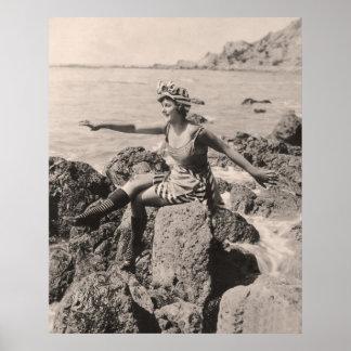 Affiche vintage de maillots de bain - 1780196-1 posters