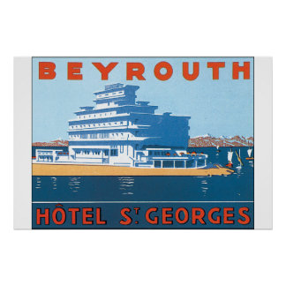 Affiche vintage de voyage de St Georges de Posters