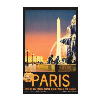 Affiche vintage de voyage toiles