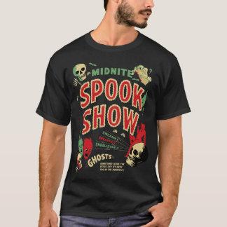 Affiche vintage d'exposition de spectre de Midnite T-shirt