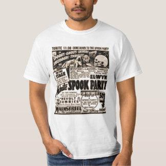 Affiche vintage d'exposition de spectre - partie t-shirt