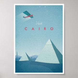 Affiche vintage le Caire de voyage Posters