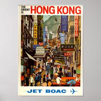 Affiche vintage l'Orient de voyage