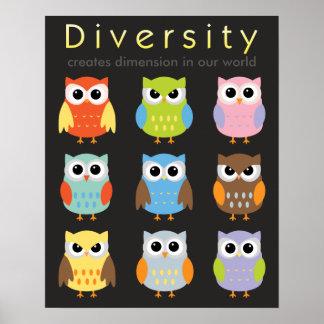 Affiches de diversité pour des enfants posters