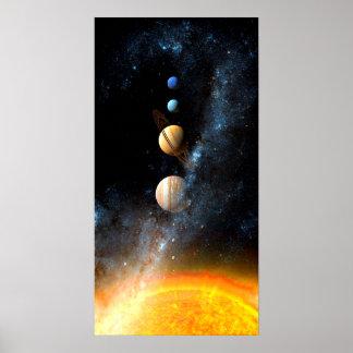 Affiches de l'espace poster